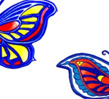 Butterfly Dance Sticker