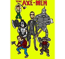 The Axe-Men Photographic Print