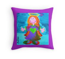 Shelby's Angel Throw Pillow