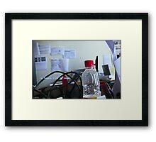 Work Framed Print