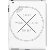 Great White North Timber iPad Case/Skin