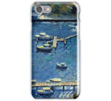 Deep Blue Lavender Bay, Sydney Harbour iPhone Case/Skin