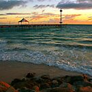 Sunset at Brighton by Pete Chennell