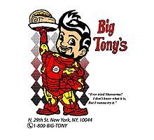 Big Tony's Photographic Print