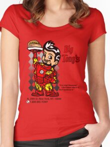 Big Tony's Women's Fitted Scoop T-Shirt