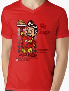 Big Tony's Mens V-Neck T-Shirt