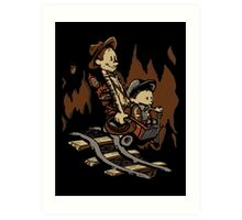 Hold onto your Potatoes, Dr. Hobbes! Art Print