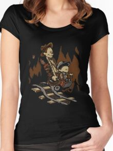 Hold onto your Potatoes, Dr. Hobbes! Women's Fitted Scoop T-Shirt