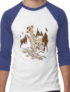 Hold onto your Potatoes, Dr. Hobbes! Men's Baseball ¾ T-Shirt
