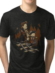Hold onto your Potatoes, Dr. Hobbes! Tri-blend T-Shirt