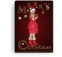Merry Christmas To You Canvas Print