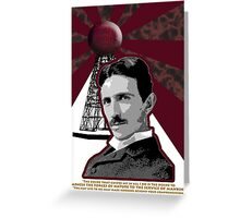 Tesla Greeting Card