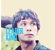 """The 100 - Bellamy """"Leader King"""" by D. Abdel."""