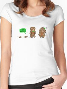 the reason for the season Women's Fitted Scoop T-Shirt