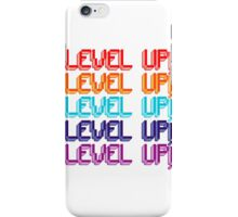 Fun Computer Game Message Level Up! iPhone Case/Skin