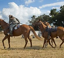 Cavalry Dismounts by Stacey Lynn Payne