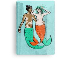 Mermaids Metal Print