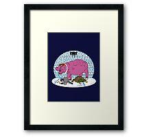 Thievius Regnum Animale Framed Print