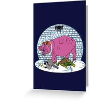 Thievius Regnum Animale Greeting Card