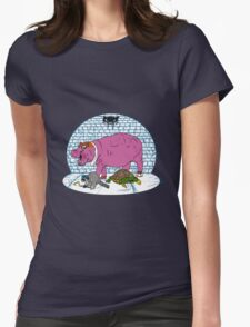 Thievius Regnum Animale Womens Fitted T-Shirt