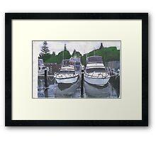 forster marina Framed Print