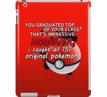 Pokemon Bragger iPad Case/Skin