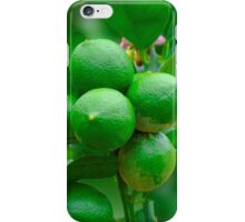 Lemons or Limes? iPhone Case/Skin