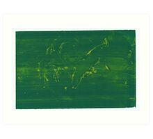 Silkscreens - 0019 - Abstract 5 Art Print