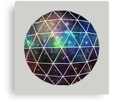 Space Geodesic  Canvas Print