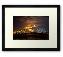 Jebel Hafeet Framed Print