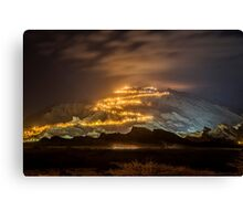 Jebel Hafeet Canvas Print