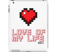 Pixel Heart Love Computer Games iPad Case/Skin
