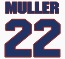 National Hockey player Kirk Muller jersey 22 by imsport