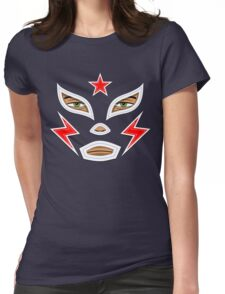 Luchador Womens Fitted T-Shirt