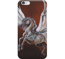 On the wings of Pegasus iPhone Case/Skin