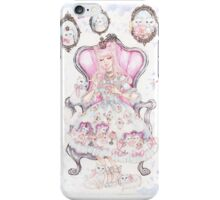 Cat's Tea Party Watercolor Painting iPhone Case/Skin