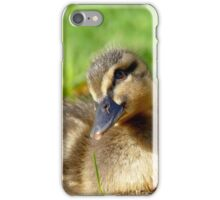 Pretty Please - Daffy Rescued Duckling - NZ iPhone Case/Skin