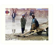 Life (Afghanistan) 6 Art Print