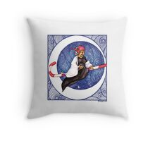 Candy Crone Throw Pillow