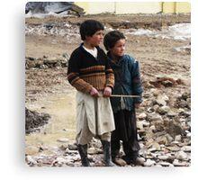 Life (Afghanistan) 7 Canvas Print