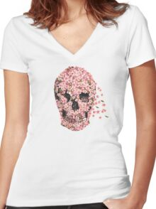A Beautiful Death  Women's Fitted V-Neck T-Shirt