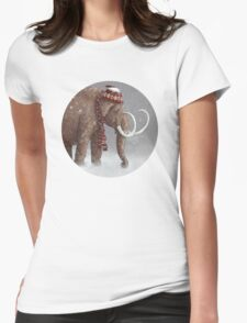 The Ice Age Sucked Womens Fitted T-Shirt