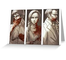 Hannibal - Murder Family Greeting Card
