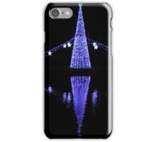 Christmas Lights in Torquay Harbour iPhone Case/Skin