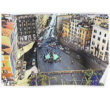 Una Piazza di Roma Poster