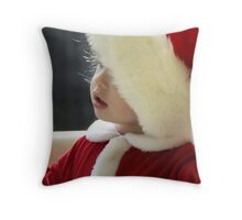 Santa's little helper! Throw Pillow