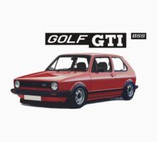 VW GOLF 1 GTI -2 by BSsociety