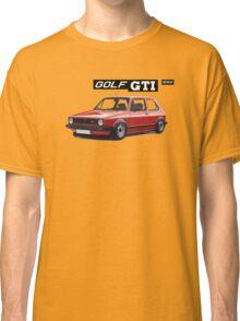VW GOLF 1 GTI -2 Classic T-Shirt
