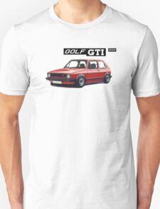 VW GOLF 1 GTI -2 T-Shirt