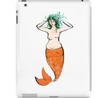 Mastectomy Mermaid iPad Case/Skin